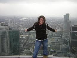 Фото с Главной башни во Франкфурте