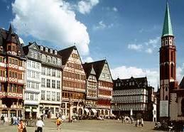 Площадь Romerberg во Франкфурте