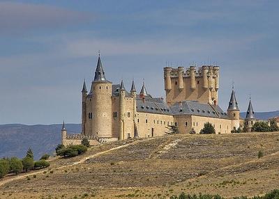 Сеговия. Замок Алькасар