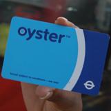 Карта Oyster для проезда в лондонском метро